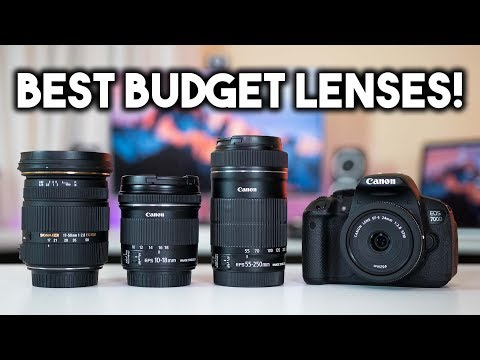Top 5 BEST Budget Canon Lenses! My Canon Lens Collection    BTS #2