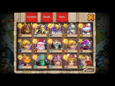 Speacial SIck Account Giveaway With Anton! - Castle Clash