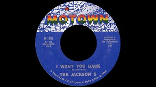 The Jackson 5 ~ I Want You Back 1969 Soul Purrfection Version