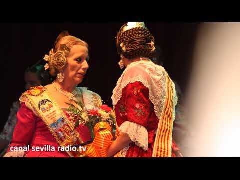 CASA REGIONAL DE VALENCIA EN SEVILLA - CAJASOL - EXALTACION FALLERA MAYOR - CANAL SEVILLA RADIO