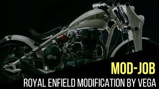 Royal enfield mdified by gm customs videos / InfiniTube
