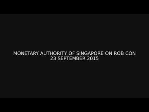 Monetary Authority of Singapore on rob con