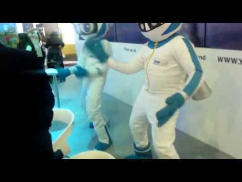 Empire Stage Mascots - Little Champions at ATM Exhitions World Trade Center Dubai