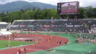 女子 4×400m 予 選6組 8組2着+8 1位 3:48.28 [R.T. 0.274] 東京 (...