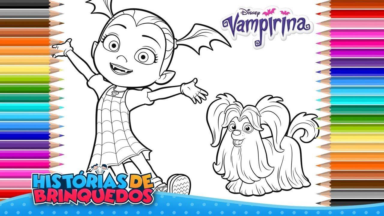 Colorindo Vampirina Disney Livro De Colorir Vampirina Coloring