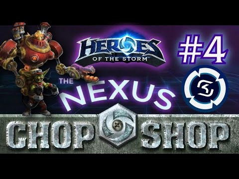 Heroes of the Storm: Nexus Chop-Shop #4 featuring SK Bakery!
