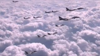 President Trump Orders B1B Nuclear Bombers To Buzz North Korean Airspace!