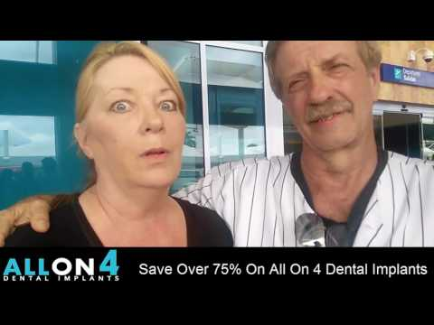 CHEAPEST Full Mouth Dental Implants In Cancun, All On 4 Mexico
