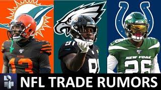 NFL Trade Rumors On Odell Beckham Jr., Yannick Ngakoue, Trent Williams, Andy Dalton & Le'Veon Bell