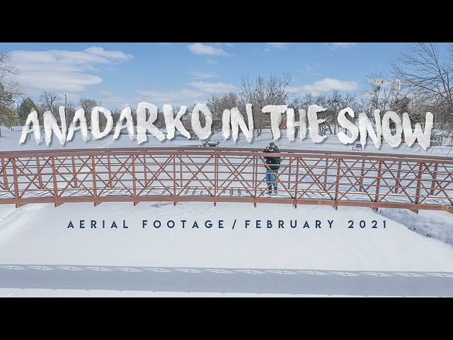 ANADARKO in the SNOW / Aerial Footage / February 2021
