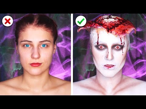 download 6 Scary Last Minute Halloween Makeup and Costume Ideas