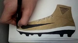 Nike mercurial superfly how to draw
