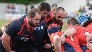 Georgia is strongest in the scrum at the World Rugby
