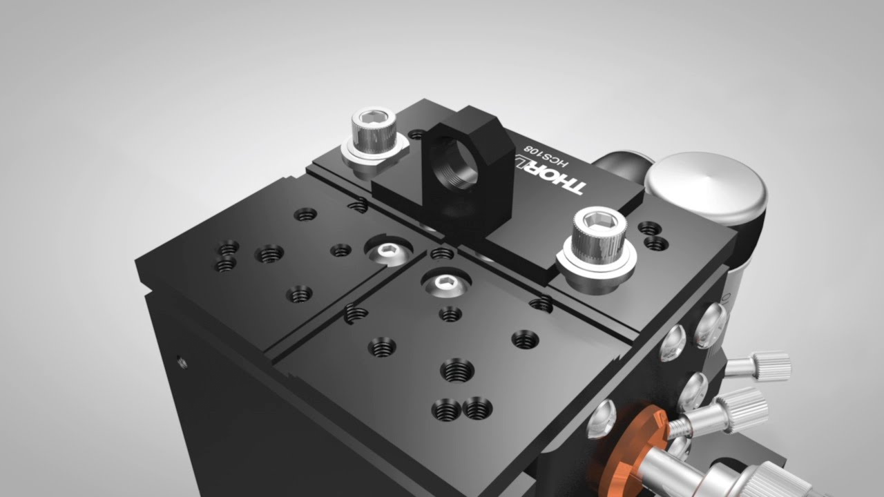 Multi-Axis Stage Accessories: Fiber Clamps and Adapters