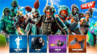 🔥 *FILTRATED* ALL NEW FORTNITE SKINS AND BAILES! 🔥 (Update 6.21) [Flopper]
