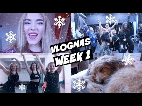 Vlogmas Week 1 | The Brit school, Musical Theatre assessments!