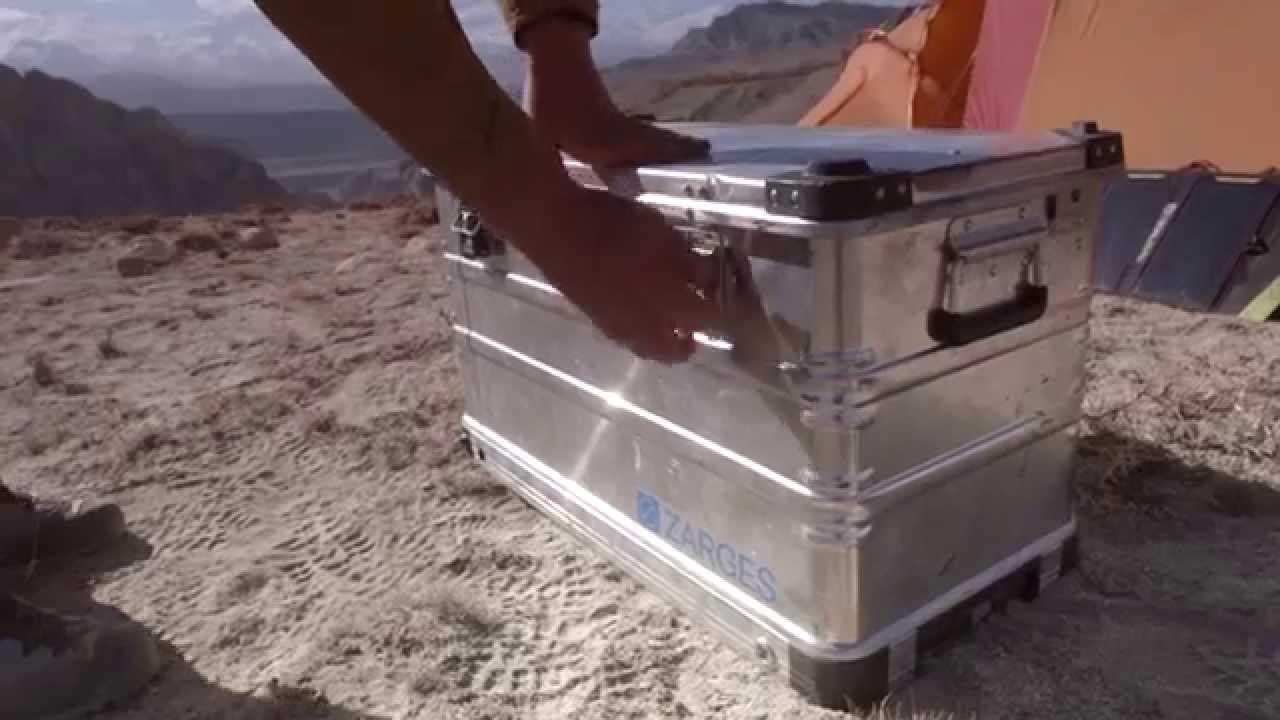 ZARGES K 424 XC. Die mobile Alubox für jedes Gelände. - YouTube