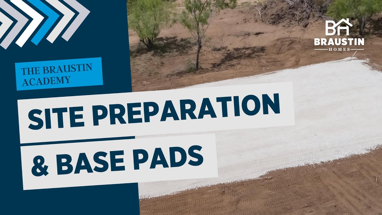 Site Preparation For a Mobile Home: What it Means and Why it