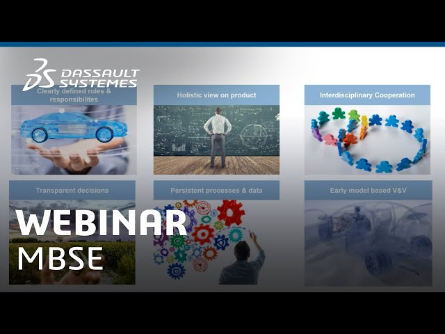 Webinar | Model-Based Systems Engineering - How to get started - Dassault Systèmes