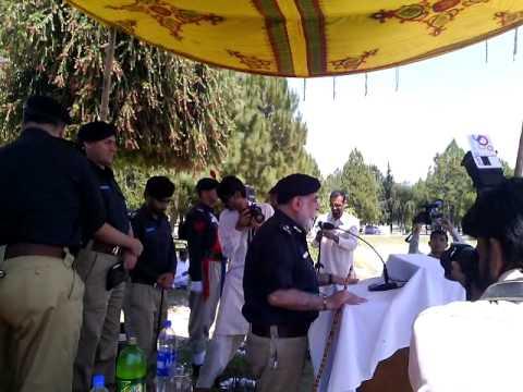 Inspector General of Police khyberpakhtunkhwa (KPK) Nasir Durrani Visit to Mansehra
