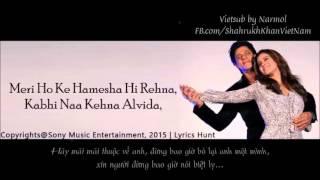 [Lyrics+Vietsub] Janam Janam (Dilwale OST Full Song) (2015) Shah Rukh Khan and Kajol