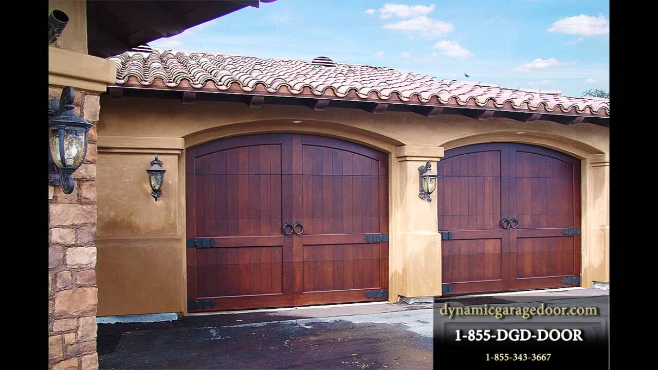 Custom Garage Doors By Dynamic Garage Doors Youtube