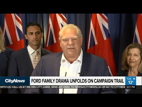 Ford family drama unfolds on campaign trail
