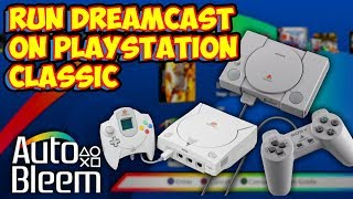 Sega Dreamcast on PlayStation Classic - Setup & Testing Performance!