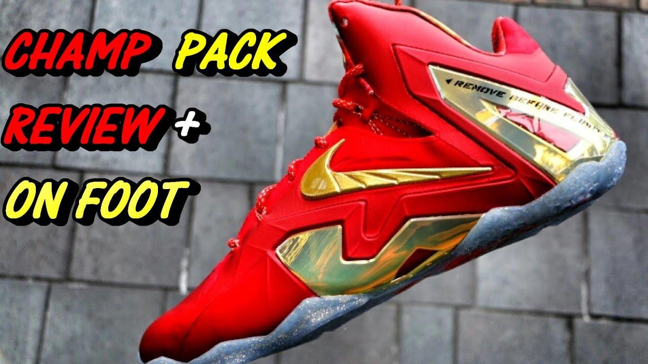 04ae54a8f73e Nike LeBron 11 Elite SE Championship - Review + On Foot - YouTube