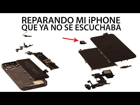 Como reparar la bocina del oido iPhone 5