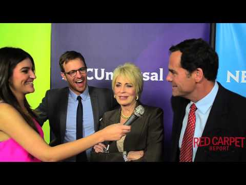 Sean Kleier, Joanna Cassidy & Andy Buckley at the NBC Winter TCA Press Tour TCA2015 OddMomOut