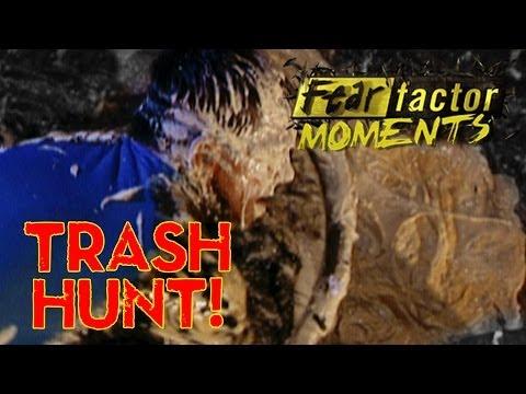 Fear Factor Moments | Trashcan Scavenger Hunt