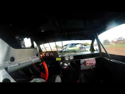 8-5-16 Luxemburg Speedway Stock Car Heat In-Car