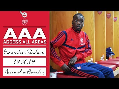 ACCESS ALL AREAS | Arsenal 2 - 1 Burnley | Aug 17, 2019