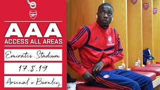 ACCESS ALL AREAS | Arsenal 2 - 1 Burnley | Aug 17, 2019 Video