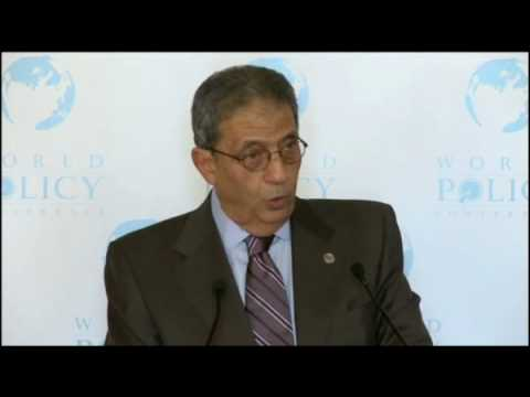 Amr Moussa - Nov 1,09 - Lunch -  1/3