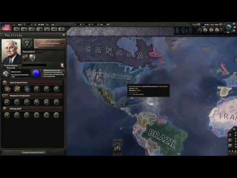 HoI 4 - United States - The Pacific - From the Halls of Montezuma to the shores of Tripoli