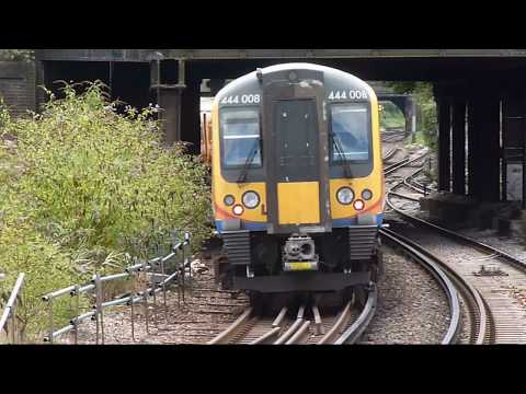 Trains at: Clapham Junction, 1 Aug 2017