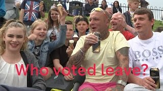 EU referendum: voters from Cleethorpes explain why Leave