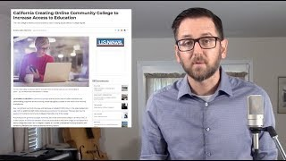 Online Community College (US News & World Report) | #TheSingleIssue with Dr. Lodge McCammon