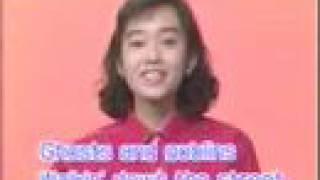 アメリカンキッズの歌 早見優 hayami yu.