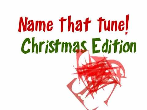 Name That Tune Christmas Edition With Answers