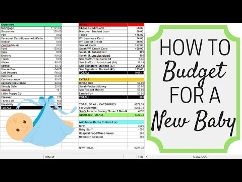 HOW TO BUDGET FOR A NEW BABY | Maternity Leave | Birth | Baby Items