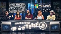 Bitcoin Brief - $ETH Fees, $BTC War Games, ION Decentralized Identity