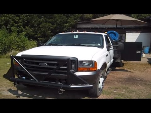Welding rig and trucks