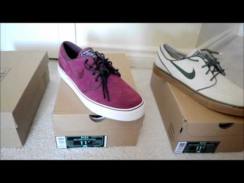 My Nike Sb Stefan Janoski Sneaker Collection ! Dope Collection HD
