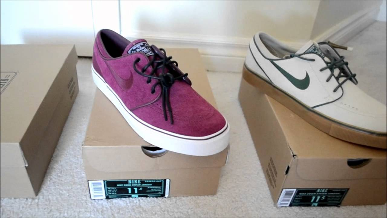 My Nike Sb Stefan Janoski Sneaker Collection ! Dope Collection HD - YouTube