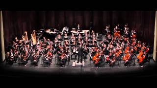 BACH (arr. Walton) The Wise Virgins: 5. Sheep may safely graze - UNC Symphony Orchestra - 2013