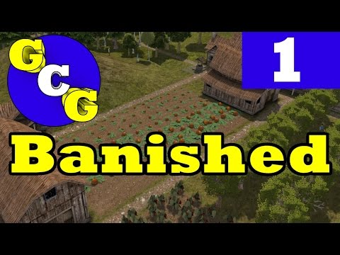 Banished - How to Start Hard and Harsh! - Ep 1