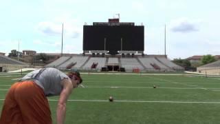 Video NFL Draft 2012 - Justin Tucker, Texas Kicker - 10 for 10 FGs Running Video download MP3, 3GP, MP4, WEBM, AVI, FLV September 2017
